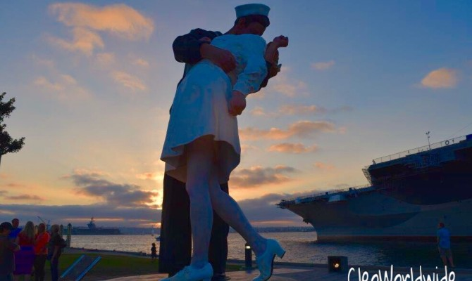 O Beijo – The Kissing Statue